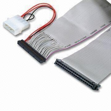 IDC Cable Flat Ribbon Cable with 2.0 or 2.54mm Pitch Connector