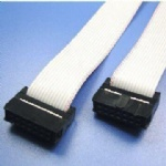 2x5 IDC 2.54 Flat Cable IDC Cable Assemblies OEM or ODM Orders are Welcome